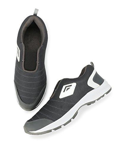 Restinfoot Men's Stylish Sports Running Shoes ART:-130 (9, GREY)