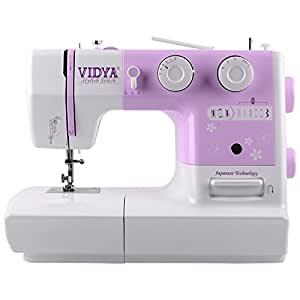 Vidya Stylish Stitchsewing Machine (Violet)