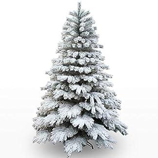 Árbol Navidad Navidad Aguja de Pino Tipo de encripción Adorno de Navidad Decoración 180cm / 210cm Nieve de Navidad (Tamaño : 2.1M(Height))