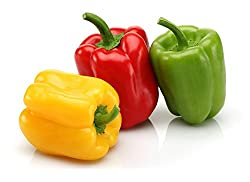 Capsicum seeds (Yellow, Red, Green) 20 seeds each