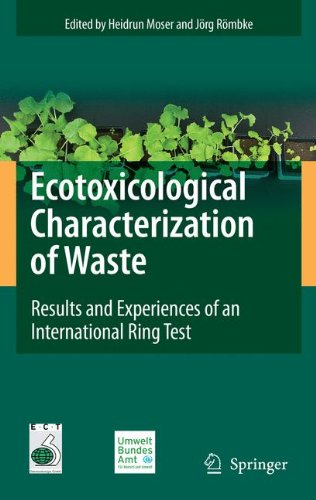 Ecotoxicological Characterization of Waste: Results and Experiences of an International Ring Test