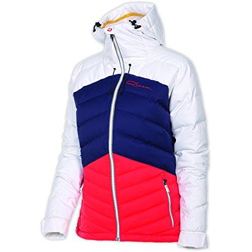 Qloom Damen Ski Jacke W's Down Aspiring, White/Navy, L, W143051