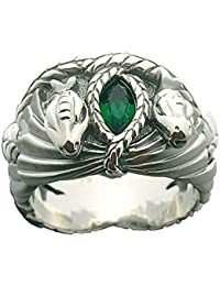 Lord of The Rings, Ring Aragorns - Barahir, 925er Silver, 64 Bite - Men Jewelry