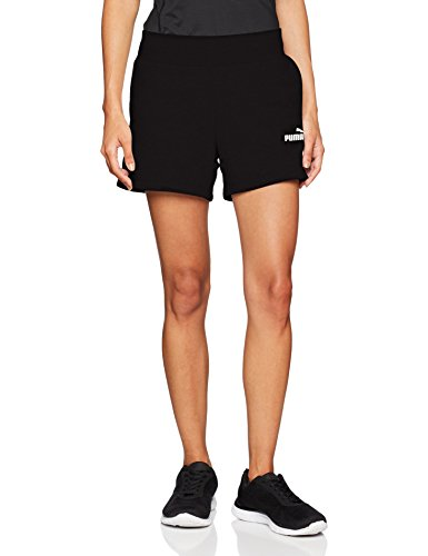 Puma Damen ESS Sweat Shorts TR Hose, Cotton Black, M