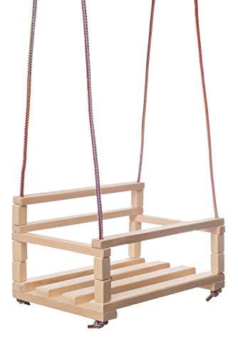 NBL Holzschaukelset für Kleinkinder | Baby Holzspielzeuge für den Garten