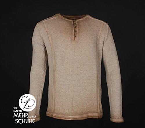 CP Abenteuer Mittelalter Hemd Shirt Zwergenhemd Heldenhemd braun used look (XX-Large)