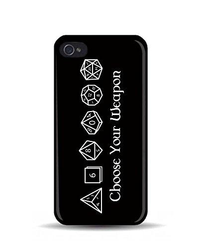 """iPhone 5/5S Choisissez votre Arme """"Donjons et Dragons 3D Coque téléphone portable"""