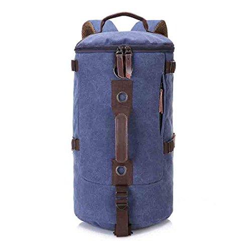 LAIDAYE Multifunktionale Tasche Tragetaschen Outdoor-Taschen Handtaschen Schultertaschen Schultertaschen Reisetaschen Rucksäcke Blue