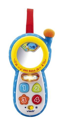 VTECH 111305 EN BEBE - TELEFONO PATRON INTERACTIVO EN BEBE  AZUL