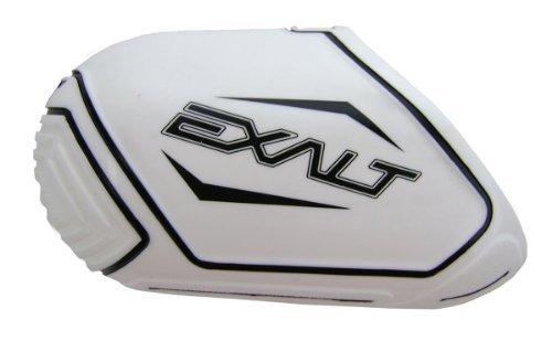 Exalt Paintball 45/50ci Carbon Fiber Tank Cover - White / Black by Exalt