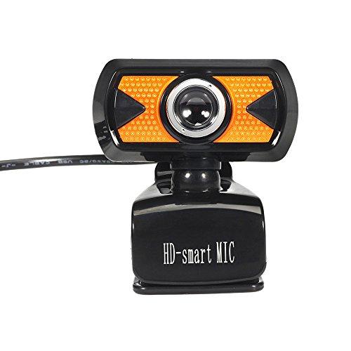 LUVERSCO USB 2.0 HD Webcam Kamera Netz Nocken Mit Mikrofon Mic LED Zum PC Laptop