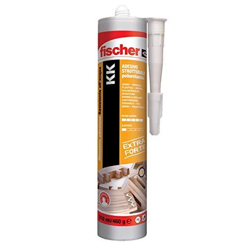 Fischer KK Adesivo strutturale resistente allacqua per mobili serramenti PVC pietra calcestruzzo e cartongesso 310 ml 544663