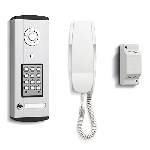 Bell Systems - 1 Way Surface Bellini Audio Door Entry Kit with Keypad - BL106-1
