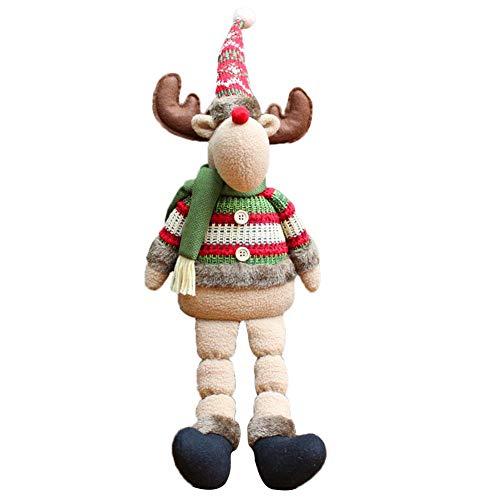 Oshide Lolly-U 2019 Weihnachtspuppe Claus Schneemann Elch Hirsch Weihnachtsfeier Liefert Weihnachtsschmuck Weihnachtsdekor Puppen Santa