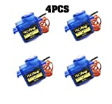 4pcs Mini Motor Servo SG90Für Küchenmaschine 2504506CH RC Arduino UNO R3