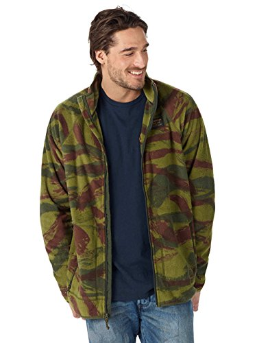 Burton Herren Ember Full-Zip Fleecejacke brush camo
