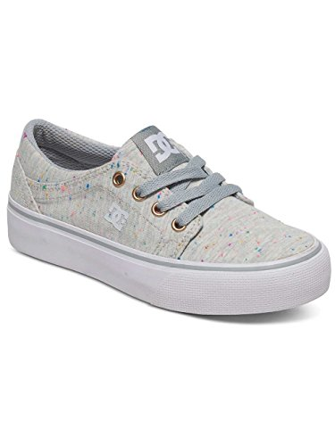 DC Shoes Trase Tx Se, Baskets Basses Fille Multi-Couleurs - Multi