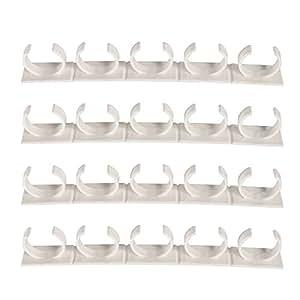 bestomz 4pcs gew rzregal spice gripper clip kunststoff selbstklebende gew rzhalter montage an. Black Bedroom Furniture Sets. Home Design Ideas