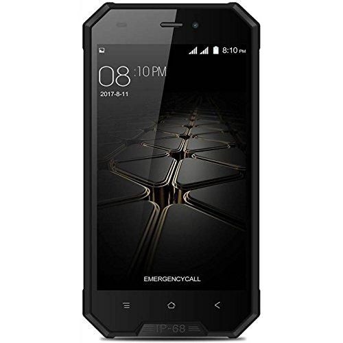Blackview BV4000 Pro - 4,7 3G Smartphone, IP68 Gegen Staub und Wasser Geschützt, Android 7.0 Quad Core 2GB+16GB, 3680mAh, SONY Kamera 8MP+2MP, Dual SIM, Entsperrt - Iphone Für Ultra-sim-karte 6