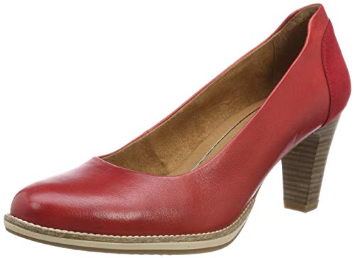 Tamaris Damen 1-1-22425-22 533 Pumps, Rot (Chili 533), 40 EU