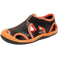 ♬ GongzhuMM Sandales Fille Garçon 26-36 Été Sneakers Fille Garçon Bout Fermé Chaussures de Sport Respirant Espadrilles Fille Garçon Chaussures de Plage de plein air pour 2-13 Ans