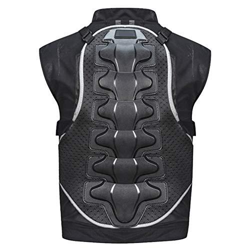 Road&Cool Schutzausrüstung Auswirkungen Westen Ärmellose Motocross-Rüstung Rückenschutz Weste Drop-Proof-Anzug -