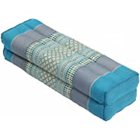 Preisvergleich für Thaikissen Meditationskissen Nackenkissen 50x15x10 Kissen mit Füllung aus Kapok Yogakissen