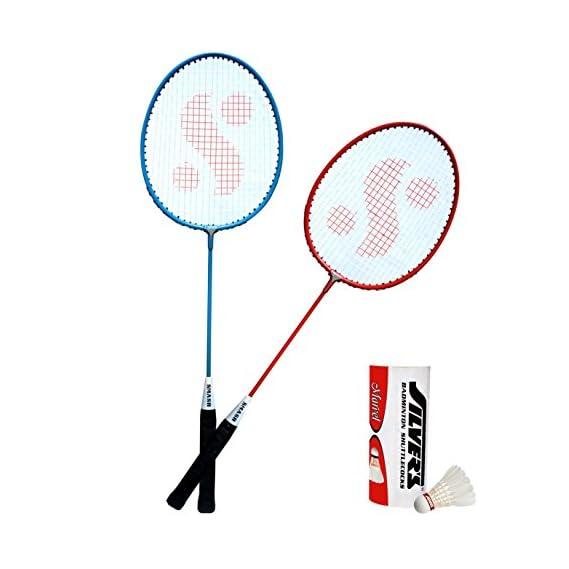 Silver's Kids SIL-SM-JR-Combo-5 Aluminum Badminton Set