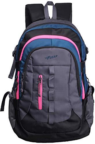 Best college bags for girl in flipkart in India 2020 F Gear Defender V2 45 Liters (Navy Blue, Pink) Rucksack Image 1