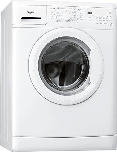 Whirlpool AWO 6846 Waschmaschine FL / A++ / 170 kWh/Jahr / 1400 UpM / 6 kg / Unterbaufähig /Startzeitvorwahl und Restzeitanzeige / weiß