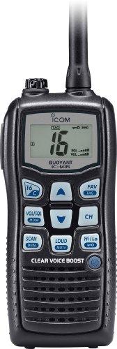 Icom M35Wasserdicht Handheld VHF-selbstschwimmend-Schwarz