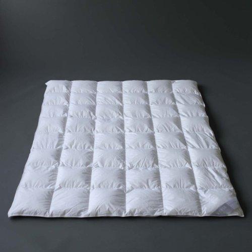 Verse - Saphir - 240x220 cm, extra warme Winter Daunendecke,