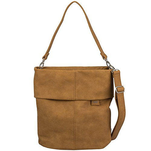 Zwei Mademoiselle M12 Handtasche Ocker