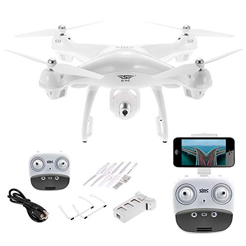 Goolsky SJ R/C S70W 2.4GHz 1080P Camera WiFi FPV Drone Altitude Hold G-Sensor Follow Me Mode GPS RC Quadcopter