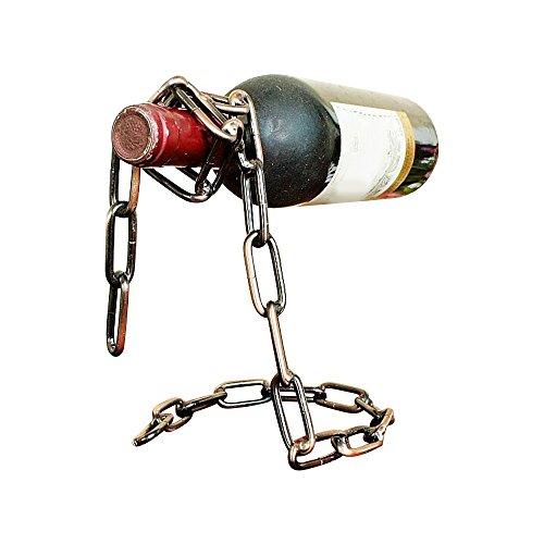 dulee creative portabottiglie vino catena magica Porta di alta qualità vino rack Bronze color