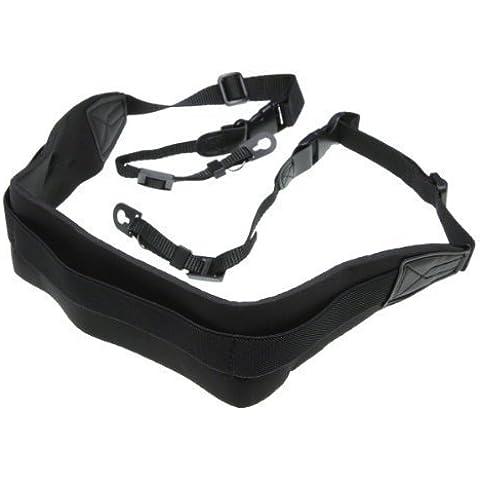 Pixel Peeper Pro - Correa bandolera para cámara réflex, neopreno, color negro