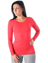 Pure Lime Seamless Women's Manches Longues Top - AW15