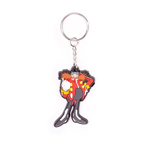 Sonic - Dr. Eggman Rubber Keychain