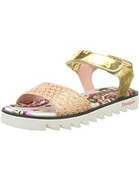 Desigual Golden Smile, Heels Sandals para Niñas