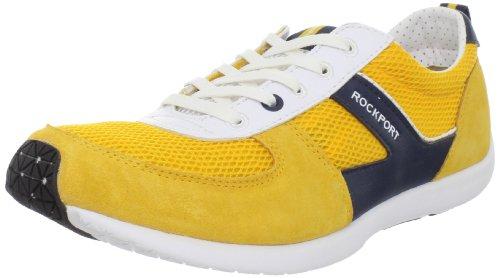Rockport Men's Park Ultra Sport Sneaker,Yellow/White,7 M US Rockport Laufschuhe