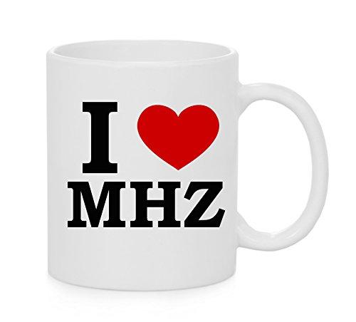 I heart MHZ ( Love ) Mug