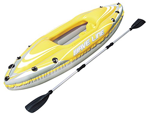 Bestway Hydro-Force - Kayak individual, 280 x 75 cm, incluye remo desmontable