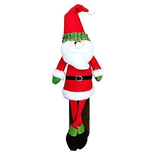 Kostüm Beutel Papier - Souarts Weihnachten Flaschentasche Weinflasche Set Weihnachts Anzug Kostüm Wrap-Abdeckungs Beutel Dekoration Weihnachtsmann