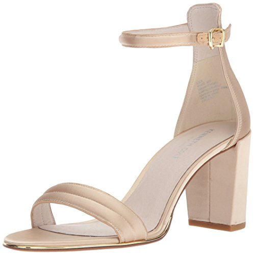 Kenneth Cole Damen Lex Riemchensandalen, Gold (Champagne), 39 EU Ankle Wrap Strappy