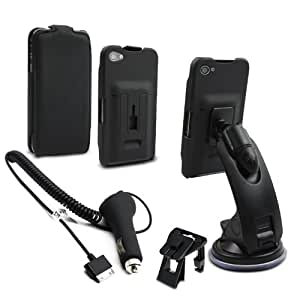 muvit Car Pack Plus Pack Voiture complet pour iPhone 4