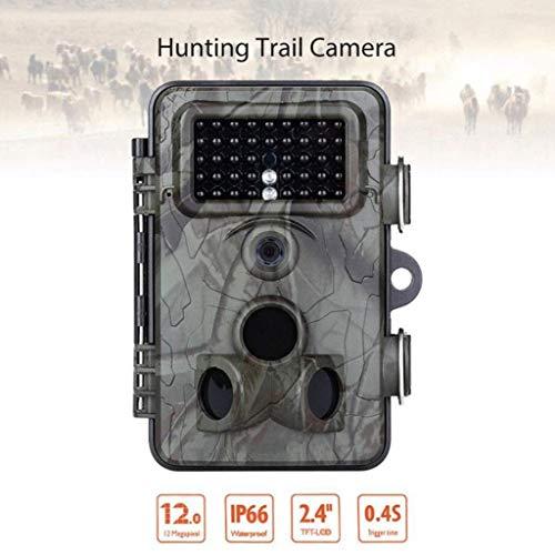 XXHDYR Wildkamera Outdoor Live Family Sicherheitsfalle 12MP Infrarot-Bewegung Nachtsichtgerät IP66 wasserdicht aktivieren 1080P Live Capture Cam Jagdkamera
