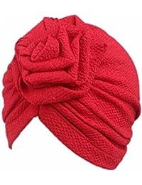 80da480dc9fb Fulltime® 2- 8 mois Bébé Fille Garçon Bonnets Boho Hat Beanie Écharpe Turban  Head
