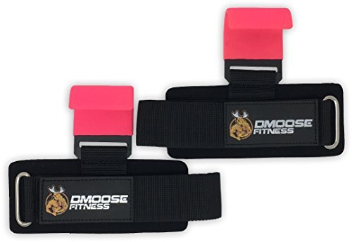Weight-Lifting-Hooks-Grip-by-DMoose-Fitness-Pair-8-mm-Thick-Padded-Neoprene-Double-Stitching-Non-Slip-Resistant-Coating-Secure-Your-Grip-and-Reach-Your-Goals-with-Premium-Workout-Hook-Gloves-Flat-Hook