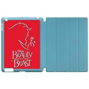 First Design Beauty and the Beast Cartoon Apple iPad 2, iPad 3 (New iPad),IPad 4 Smart Case Covers