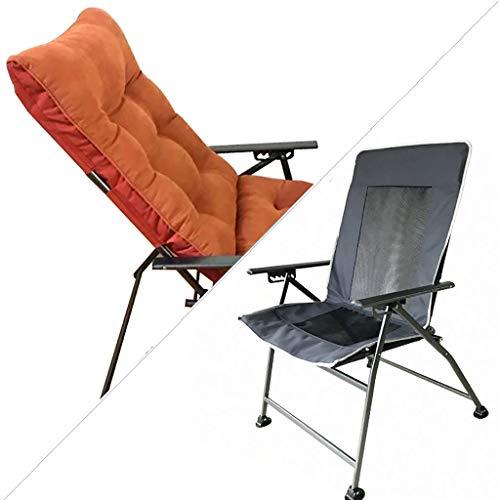 Chaises Longues Chaise Longue Canapé Paresseux Arrière Bureau Balcon Pause-déjeuner Hiver Et Eté Double Usage 8 Couleurs (Couleur : D)